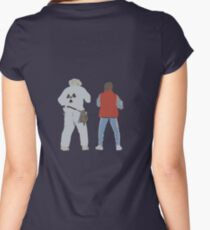 Back (s) to the Future  Women's Fitted Scoop T-Shirt