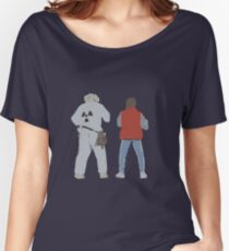 Back (s) to the Future  Women's Relaxed Fit T-Shirt