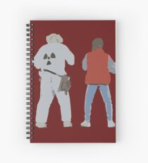Back (s) to the Future  Spiral Notebook