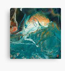 Turbulent Sea #1 Canvas Print