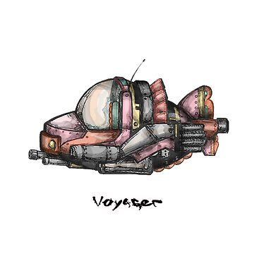 Voyager - Jet Age Of Tomorrow  by Jetblackbob