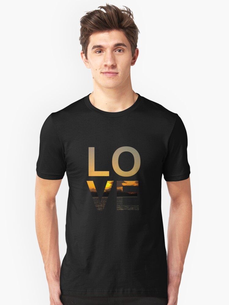 Love (Sunset edition) Unisex T-Shirt Front