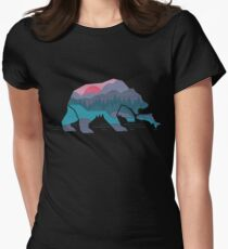 Bear Country Women's Fitted T-Shirt
