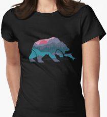 Bärenland Tailliertes T-Shirt für Frauen