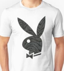 playboy bunny grey pattern Unisex T-Shirt