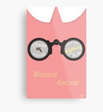Moonrise Kingdom: Lightning Metal Print