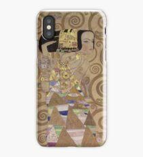 Gustav Klimt - Expectation - Klimt - iPhone Case/Skin