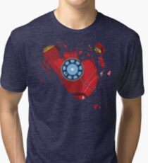Ripped Reactor Tri-blend T-Shirt