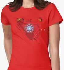 Ripped Reactor Womens Fitted T-Shirt