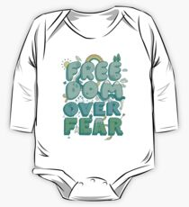 Freedom Over Fear One Piece - Long Sleeve