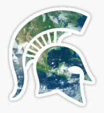 MSU Spartan Sticker