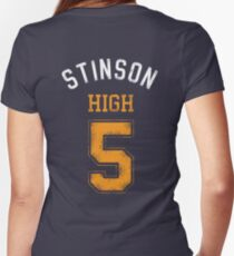 STINSON HIGH 5 (second version) Women's Fitted V-Neck T-Shirt