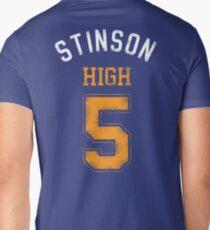 STINSON HIGH 5 (second version) Mens V-Neck T-Shirt