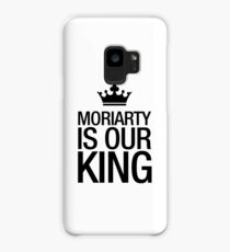 MORIARTY IS OUR KING (black type) Case/Skin for Samsung Galaxy