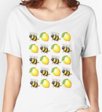 Bees&Lemons Women's Relaxed Fit T-Shirt