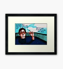 By myself Framed Print