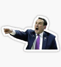 Coach K  Sticker