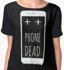 Dead Phone Chiffon Top