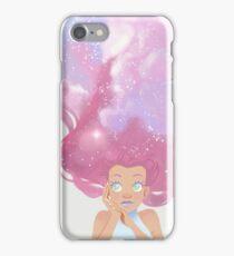 Galaxy hair iPhone Case/Skin