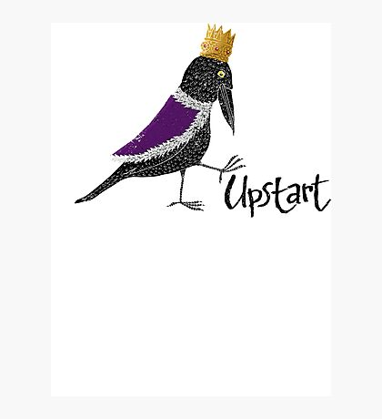 Upstart Crow Photographic Print