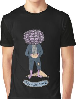 Sea Urchin Beach Boy Graphic T-Shirt