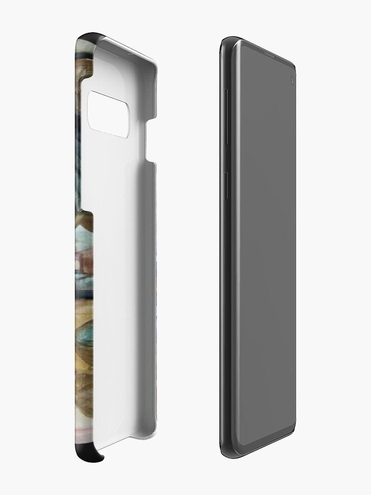 Alternate view of hoopoe (Upupa epops) Case & Skin for Samsung Galaxy