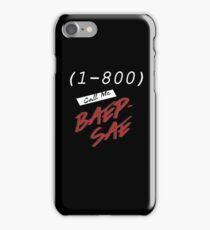(1-800) Call me Baepsae iPhone Case/Skin