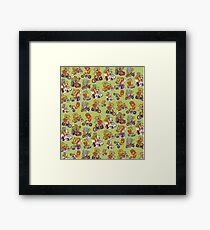 Monsters Driving Framed Print