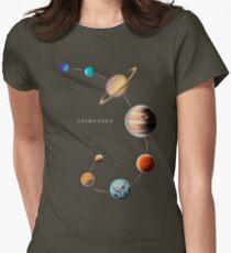 Camiseta entallada Sistema solar