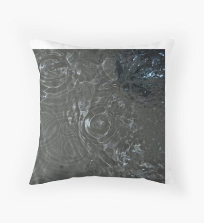 Bubbles in the Sink, Vancouver, British Columbia Throw Pillow