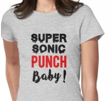 Super sonic punch baby! - Cisco 3 Womens Fitted T-Shirt