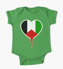 PALESTINIAN BLEEDING HEART One Piece - Short Sleeve