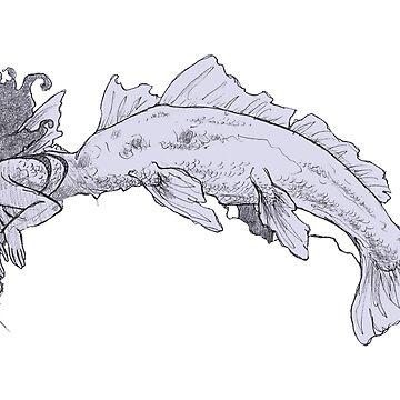 Coelacanth by Chrispykreme