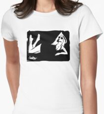 Sunbath  Womens Fitted T-Shirt