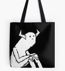 Contemplative Monster Tote Bag