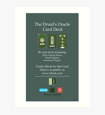 NEW! Druid Oracle Published Deck! Art Print