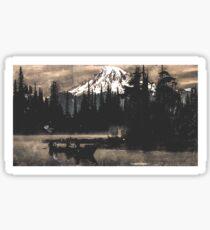 Mt. Tahoma Sticker