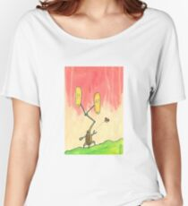 Robot Farm:  Oh, Look a Butterfly Women's Relaxed Fit T-Shirt