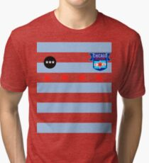 Chicago Red Stars Inspired Jersey Tri-blend T-Shirt
