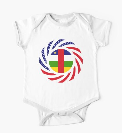Central African Republic American Multinational Patriot Flag Series Kids Clothes