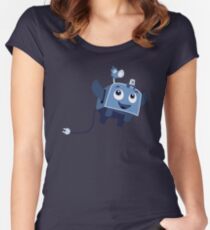The Brave Little Toaster Goes To The Surface! Women's Fitted Scoop T-Shirt