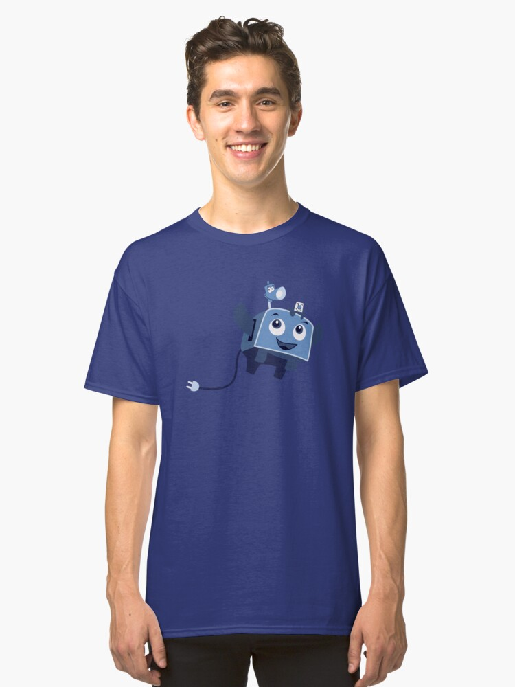 The Brave Little Toaster Goes To The Surface! Classic T-Shirt Front
