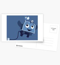 The Brave Little Toaster Goes To The Surface! Postcards