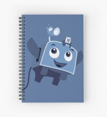 The Brave Little Toaster Goes To The Surface! Spiral Notebook