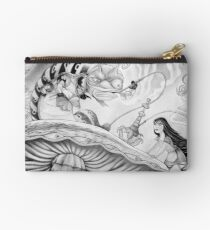 Who are YOU? (Alice and the Caterpillar) Studio Pouch