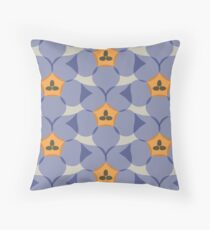Royal Bluebell Throw Pillow