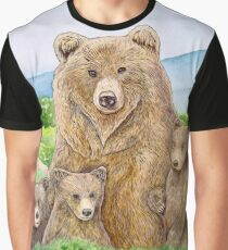 Mother Bear Graphic T-Shirt