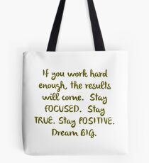 """Eye On The Prize"" Dream BIG Design Tote Bag"