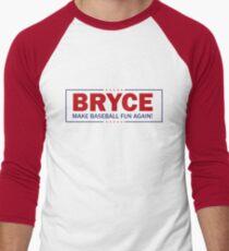 Bryce - Make Baseball Fun Again! Men's Baseball ¾ T-Shirt