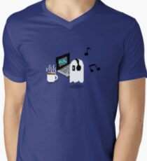 Napstablook Chill Undertale Men's V-Neck T-Shirt